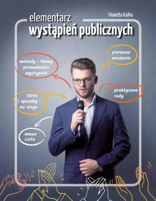 Elementarz wystąpień publicznych - okładka książki