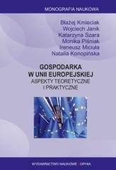 Gospodarka w Unii Europejskiej - okładka książki