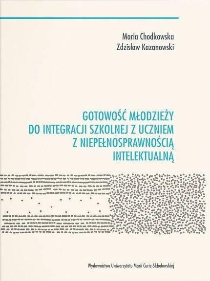 Gotowość młodzieży do integracji - okładka książki