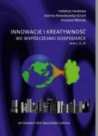 Innowacje i kreatywność we współczesnej - okładka książki