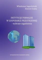 Instytucje formalne w gospodarce - okładka książki