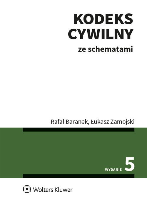 Kodeks cywilny ze schematami - okładka książki