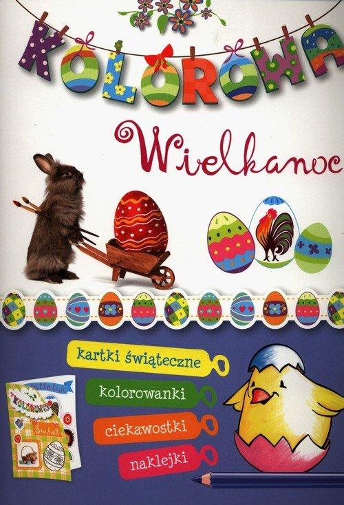 Kolorowa Wielkanoc - okładka książki