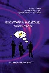 Kreatywność w zarządzaniu - wybrane - okładka książki
