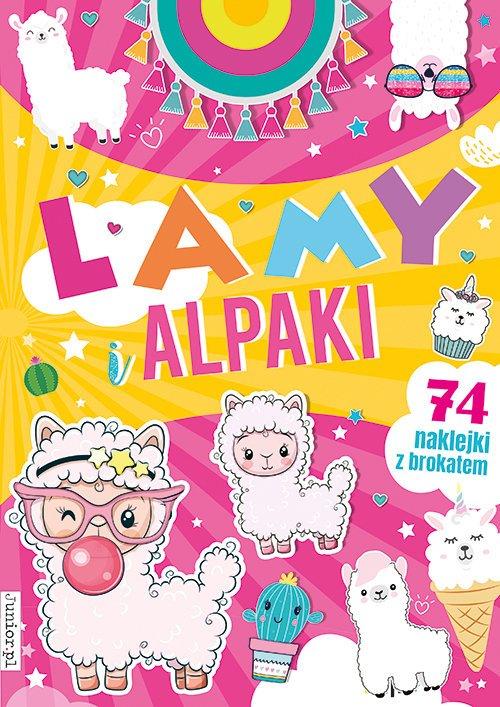 Lamy i alpaki - okładka książki