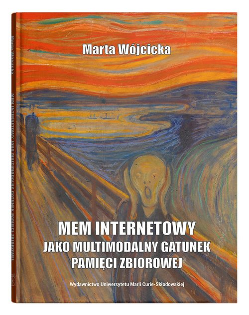 Mem internetowy jako multimodalny - okładka książki