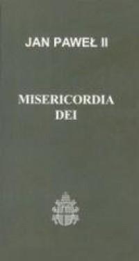 Misericordia Dei - okładka książki