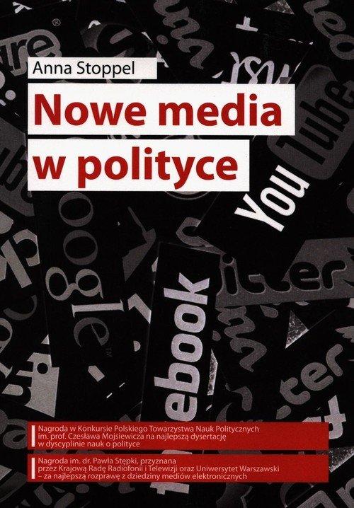Nowe media w polityce - okładka książki