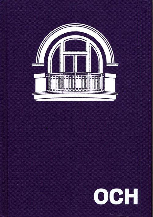 OCH. Ilustrowany atlas architektury - okładka książki