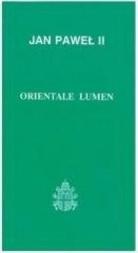 Orientale lumen - okładka książki