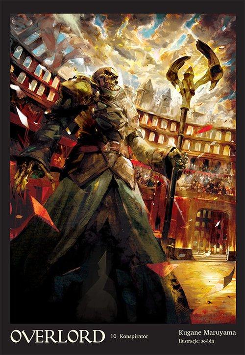 Overlord #10 Konspirator - okładka książki