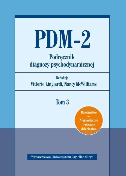 PDM-2. Podręcznik diagnozy psychodynamicznej. - okładka książki