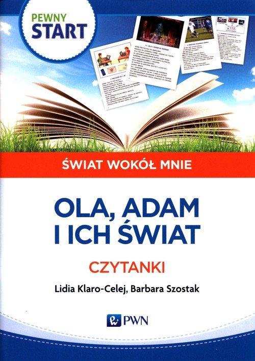 Pewny start Świat wokół mnie Ola, - okładka podręcznika