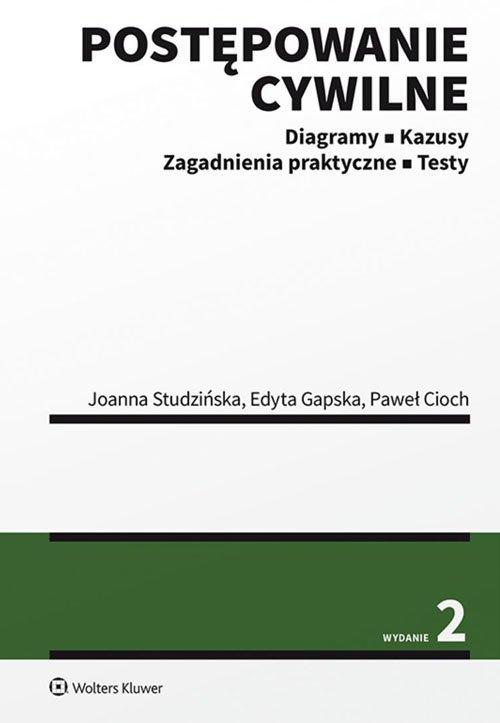 Postępowanie cywilne w.2/2020. - okładka książki