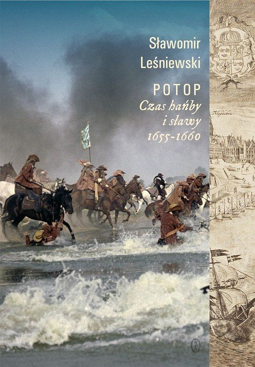 Potop. Czas hańby i sławy. 1655-1660 - okładka książki