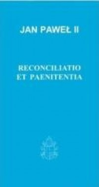 Reconciliatio et paenitientia - okładka książki