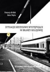 Sytuacje kryzysowe występujące - okładka książki