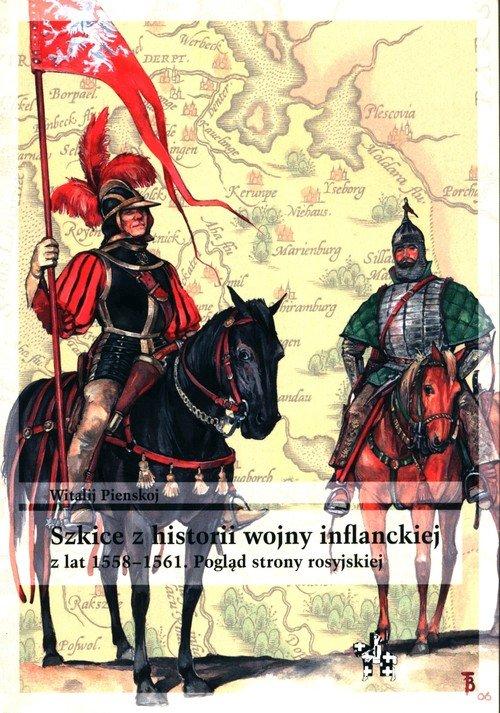 Szkice z historii wojny inflanckiej. - okładka książki