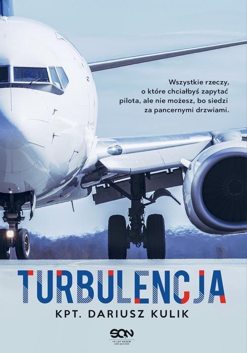 Turbulencja - okładka książki