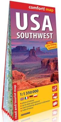 USA południowo-zachodnie (USA Southwest); - okładka książki