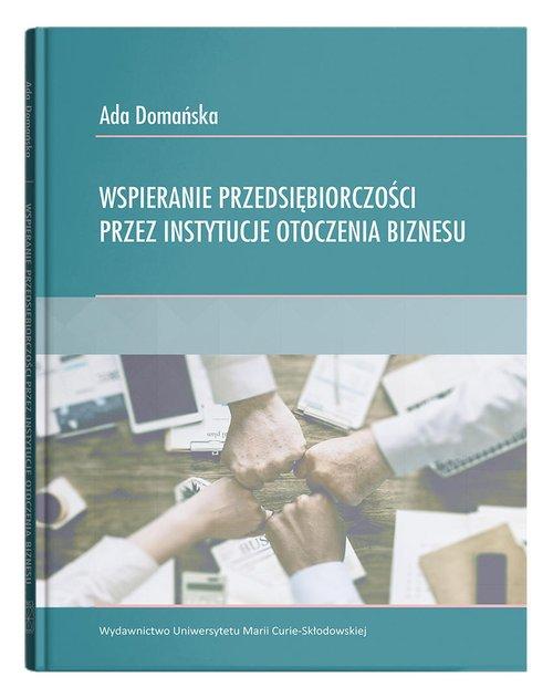 Wspieranie przedsiębiorczości przez - okładka książki