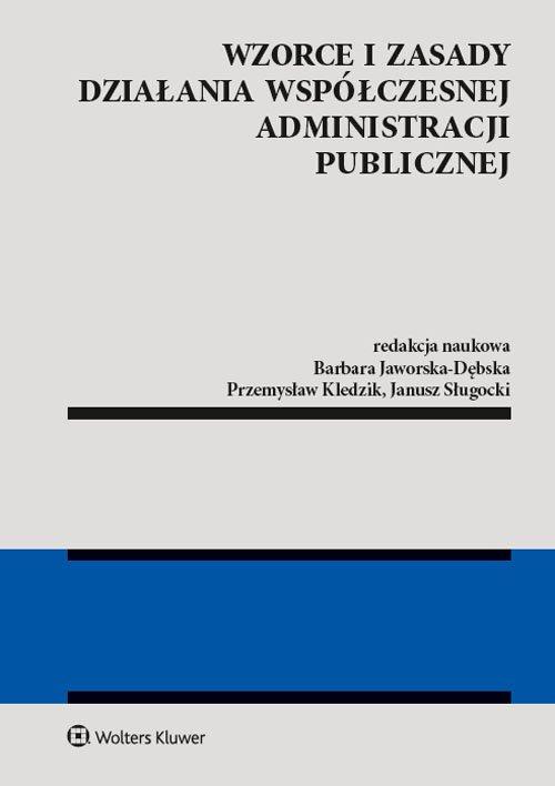 Wzorce i zasady działania współczesnej - okładka książki