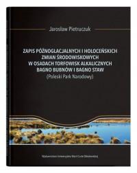Zapis późnoglacjalnych i holoceńskich - okładka książki
