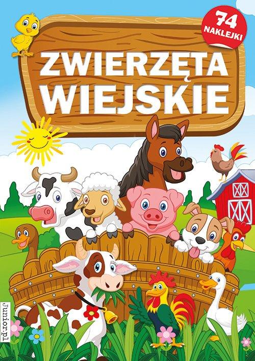 Zwierzęta wiejskie - okładka książki