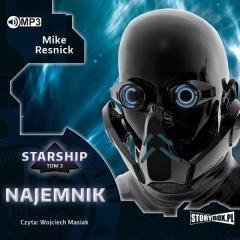 Najemnik. Starship. Tom 3 (CD mp3) - pudełko audiobooku