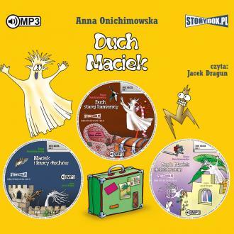 Duch Maciek. PAKIET (CD mp3) - pudełko audiobooku