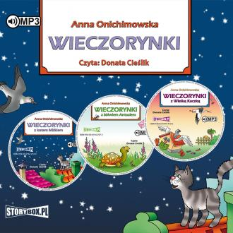 Wieczorynki z kotem Miśkiem / Wieczorynki - pudełko audiobooku