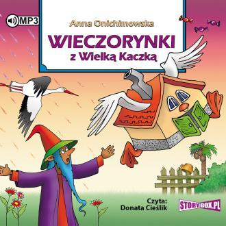 Wieczorynki z wielką kaczką (CD - pudełko audiobooku