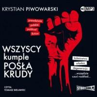 Wszyscy kumple posła Krudy (CD - pudełko audiobooku