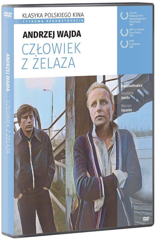Człowiek z żelaza. Klasyka Polskiego - okładka filmu