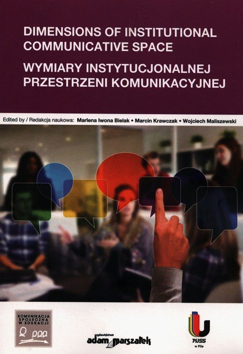 Dimensions of Institutional Communicative - okładka książki
