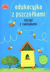 Edukacyjka z pszczółkami. Zeszyt - okładka książki