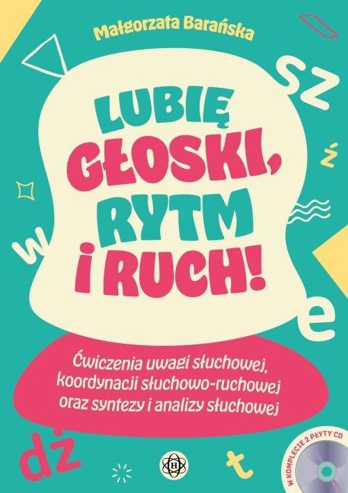Lubię głoski, rytm i ruch! Ćwiczenia - okładka podręcznika