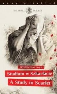 Sherlock Holmes. Studium w szkarłacie - okładka książki