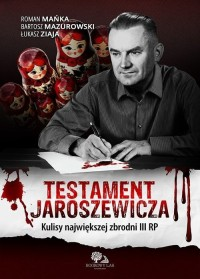 Testament Jaroszewicza - okładka książki