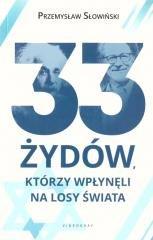 33 Żydów, którzy wpłynęli na losy - okładka książki