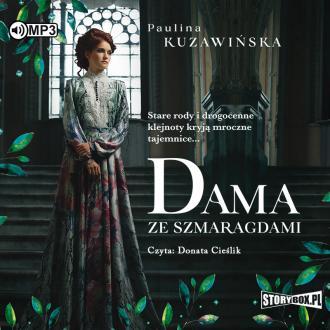 Dama ze szmaragdami (CD mp3) - pudełko audiobooku