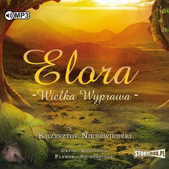 Elora. Wielka wyprawa (CD mp3) - pudełko audiobooku