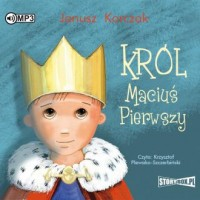 Król Maciuś Pierwszy (CD mp3) - pudełko audiobooku