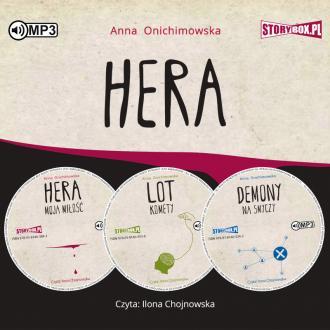 Pakiet Hera (CD mp3) - pudełko audiobooku