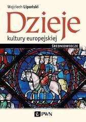Dzieje kultury europejskiej. Średniowiecze - okładka książki