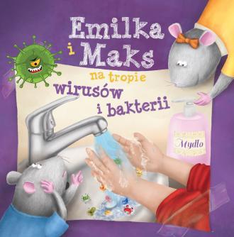 Emilka i Maks na tropie wirusów - okładka książki