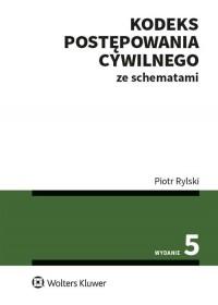 Kodeks postępowania cywilnego ze - okładka książki