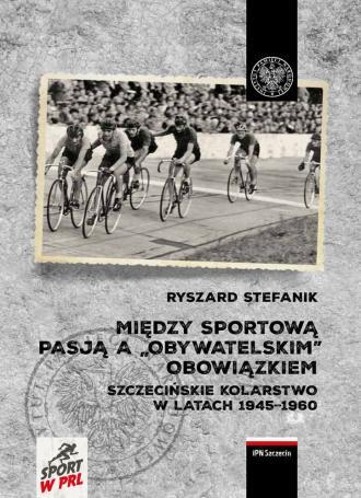 Między sportową pasją a obywatelskim - okładka książki