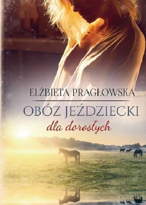 Obóz jeździecki dla dorosłych - okładka książki
