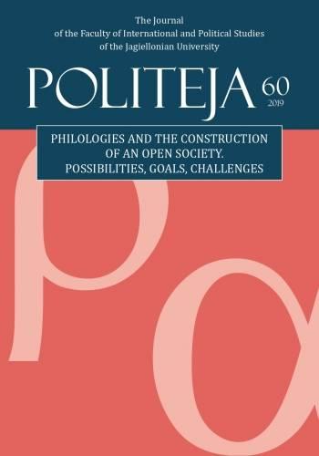 Politeja nr 60/2019 - okładka książki
